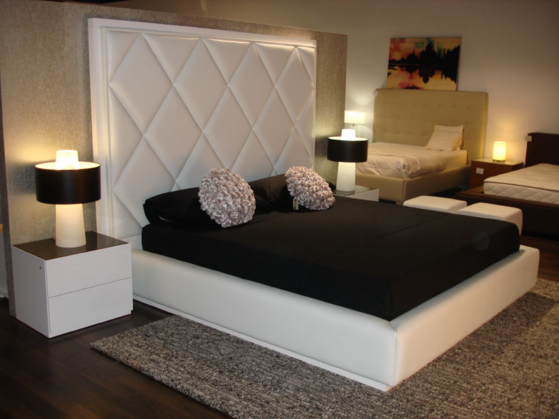 this custom made bed is stunning contemporary furniture in miami